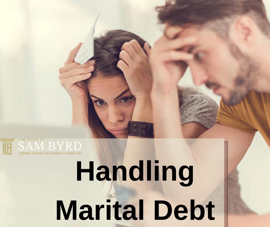 Handling Marital Debt